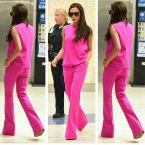 NWT Victoria Beckham Target Pink Tank Pants Set